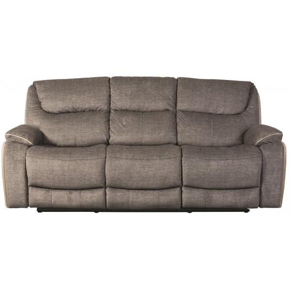 Langley Smoky 3 Seater Recliner Sofa