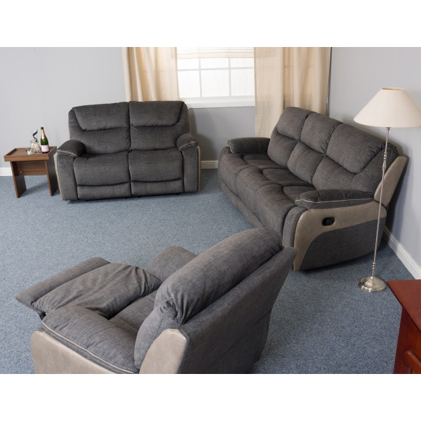 Langley 2 Seater Recliner Sofa