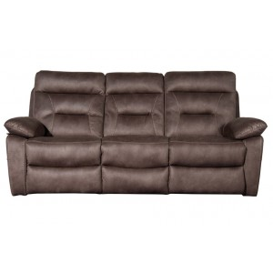Philadelphia Pecan 3 Seater Sofa