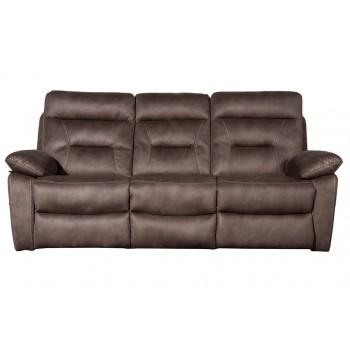 Philadelphia Pecan 3 Seater Sofa