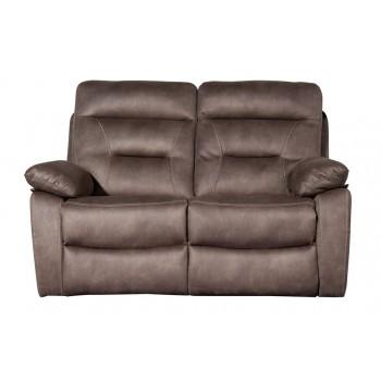 Philadelphia Pecan 2 Seater Sofa