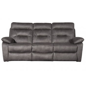 Philadelphia Silver 3 Seater Sofa