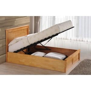 Chandler Oak Ottoman Bed