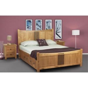 Curlew Bed in Oak Effect