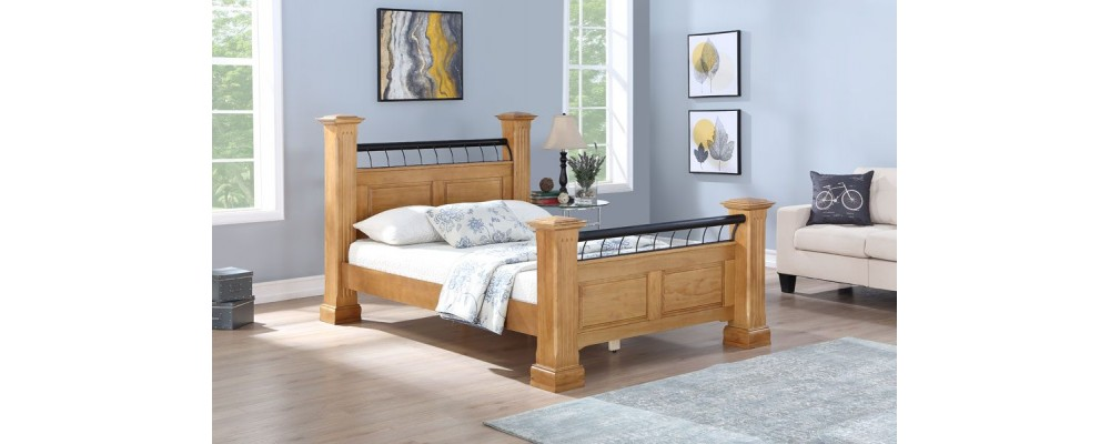Hunter Oak Bed