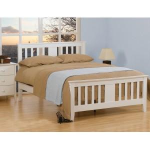 Kestral White Bed