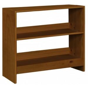 Mid Sleeper Antique Pine Bookcase