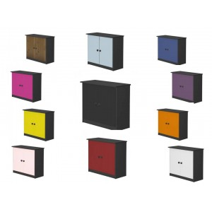 Ribera Graphite Cupboard with various colours