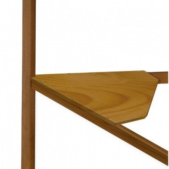 Corner Antique Pine Desk Top