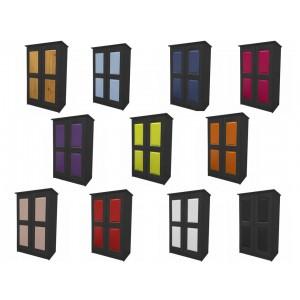 Verona 2 Door Graphite Tallboy with various colours