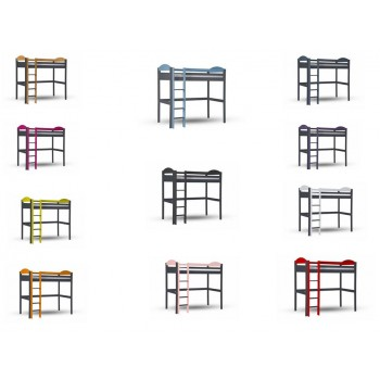 Maximus High Sleeper Graphite Frame with various Colours