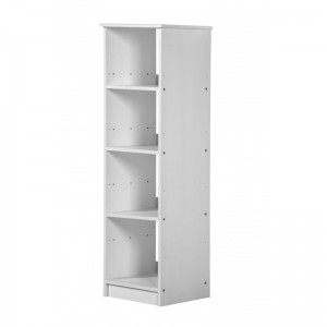 Adrano Whitewash Shelf Unit