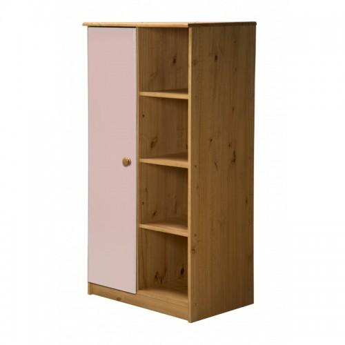 Avola 1 Door Antiquie Pine Storage Unit with various colours