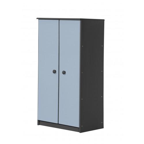 Avola 2 Door Graphite Storage Unit with various colours