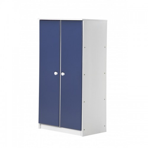 Avola 2 Door Whitewash Storage Unit with various colours