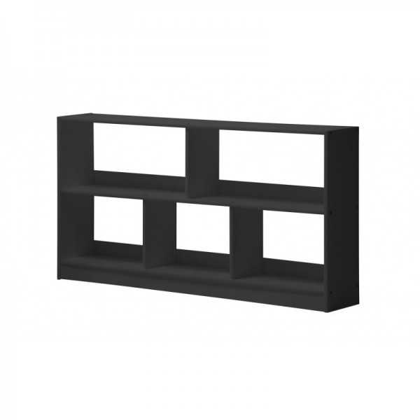 Bari Graphite Open Shelf Unit