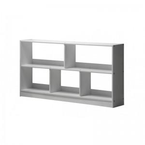 Bari Whitewash Open Shelf Unit
