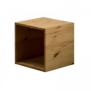 Cube Antique Pine Box