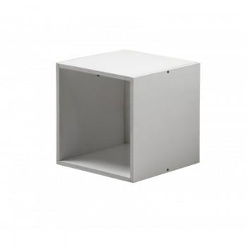 Cube Whitewash Box