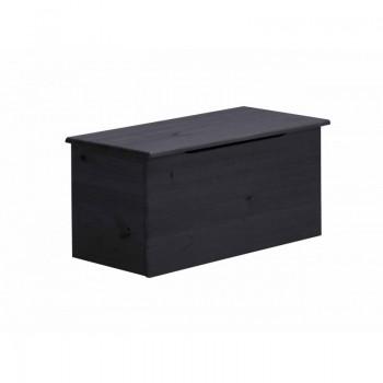 Ottoman Graphite Box