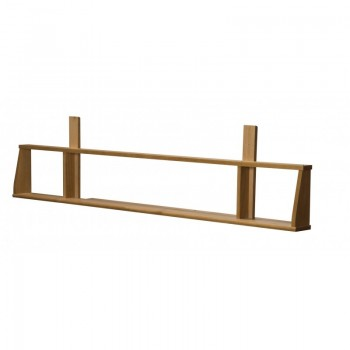 Siracusa Antique Pine Long Shelf