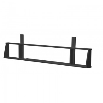 Siracusa Graphite Long Shelf