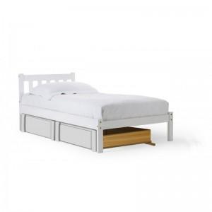 Siena Under-bed Whitewash Drawers