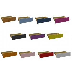 Universal Under-bed Drawers in various colours